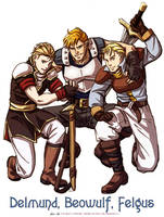 Fire Emblem Beowulf's Boys by Meibatsu