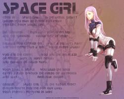 Space Girl Fafnr by Meibatsu