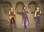 Fire Heart Clan members by Meibatsu