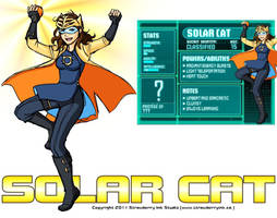 Young Justice - Solar Cat by Meibatsu