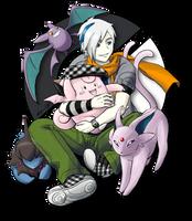 Pokemon Monochrome - Altaire by Meibatsu
