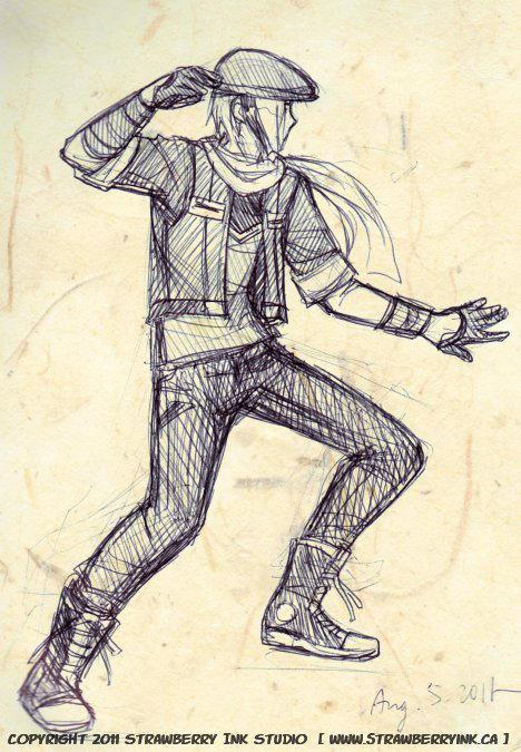 Teens in skinny jeans. by Meibatsu