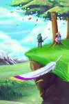 Legend of Zelda Skyward Sword by Meibatsu