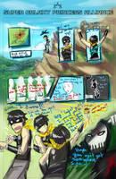 SGPA Distortions - Team Super Cool - p.1 sketch by Meibatsu