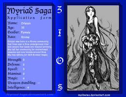 Myriad-Saga WIP: Orleien by Meibatsu