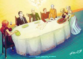 Family Dinner by Meibatsu