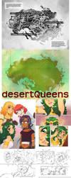 Desert Queens by Meibatsu