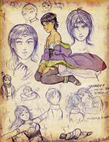 moar sketches of Nemesis~~ by Meibatsu
