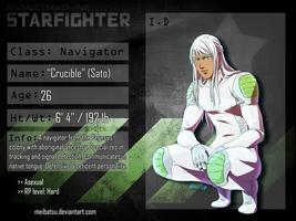 STARFIGHTER-RP NAVIGATOR: CRUCIBLE by Meibatsu