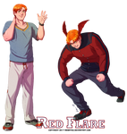 [S2] Red Flare - Hot-headed Hunk by Meibatsu