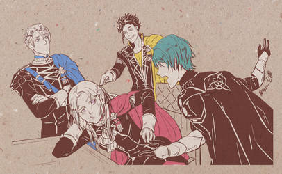 Fire Emblem: Three Houses by Meibatsu