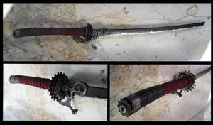 Steampunk Sword: Zanki- by TamonteN