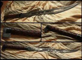 steampunk sword: Karas- by TamonteN