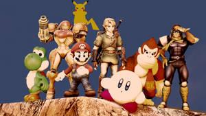 Super Smash Bros. by nitronGMOD