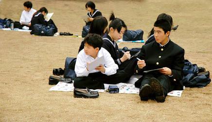 School Outting by Miruku-tii-kudasai