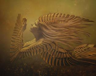 Angels last Prayer by Samsiara