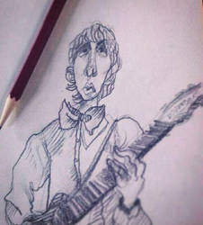 Pete Townshend sketch by KabouterPollewop