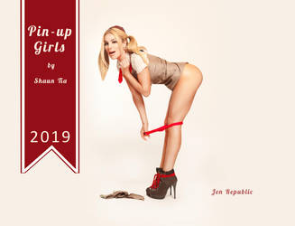 2019 Pinup Calendar by shauntiamodel