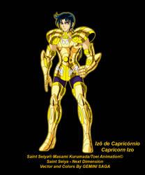 Capricorn Izo by Geminisaga06