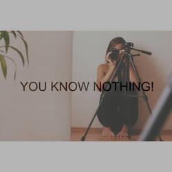 You know nothing by Kikushka15