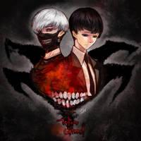 Tokyo Ghoul by stellac42