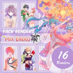 Pack Renders #13 Mix Enero by ZttaR