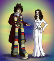 Four And Romana by cardinalbiggles