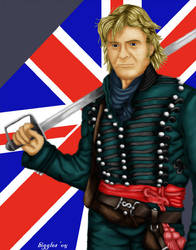 Major Richard Sharpe by cardinalbiggles
