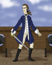 Midshipman Alan Lewrie by cardinalbiggles