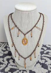 Late Summer Necklace by LorienInksong