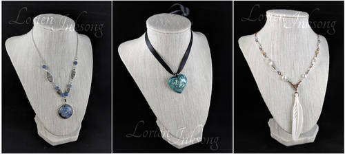November Necklaces by LorienInksong