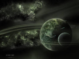 Asteroid Planet by ArtOfKings