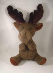 Naked Moose plush by pandari