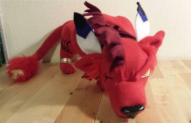 Red XIII custom plush by pandari