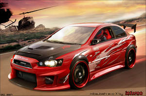 mitsubishi evolution X by inferno-87
