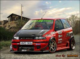 fiat punto drift style by inferno-87