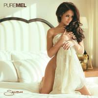 Pure Mel: Melanie Iglesias Nude Sheer Sheet by NickSaglimbeni