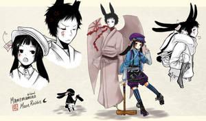 [Custom] Mamemamono Adopt ver. Moon Rabbit by mayoujii