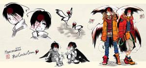 [CLOSED] Mamemamono Adopt ver. Brother Cranes by mayoujii