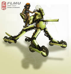 FLMU_SAND STINGER by sarukaze