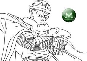 Lineart DragonBall 006 by MajinPat