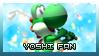 Yoshi Stamp by MajinPat