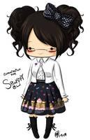Comm : SpookifyLJ - chibi by maeoneechan