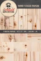 Wood Veneer Papers by Whimsical-Adventure