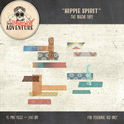 Hippie Spirit Washi Tape by Whimsical-Adventure