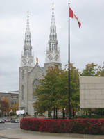 Steeples and Flags by Gouacheman