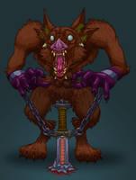 Beast of Rage by Gouacheman