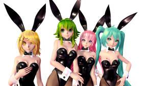 Bunny group by KuroVonWolfgang