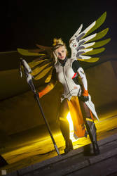 Mercy from Overwatch by Calypsen by Calypsen