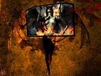 Angel of death- by fragmaggit